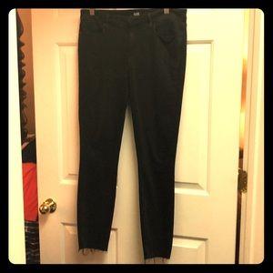 Black soft lightweight denim jeans for sale
